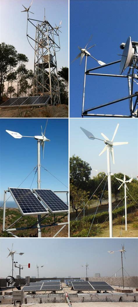 Kvalitātes 5KW 10KW sadzīves vēja un saules hibrīda sistēmas ražotāji, piegādātāji ...