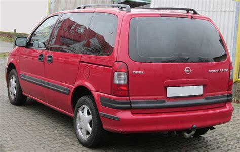 Opel Sintra by File Opel Sintra Rear 20130104 Jpg Wikimedia Commons