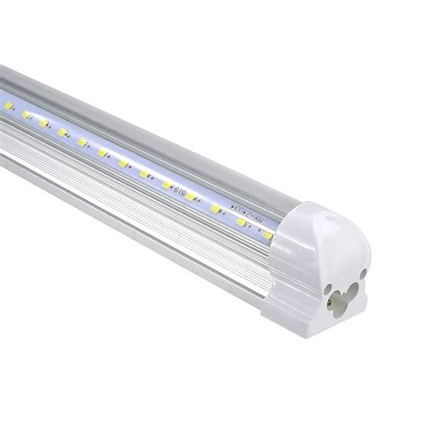 25pcs v shape t8 led 4ft 6ft 8ft integrated