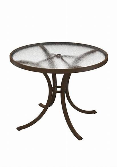 Table Round 36 Dining Acrylic Tropitone Replacement