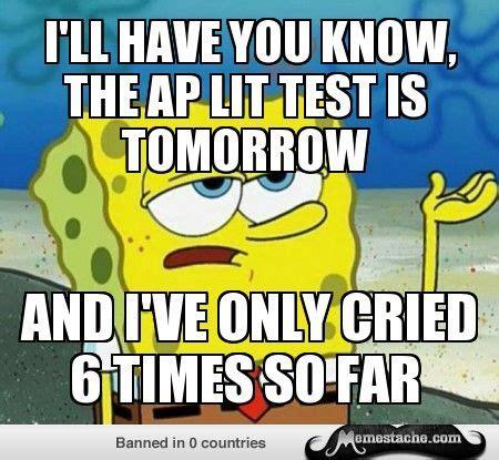 Ap Lit Memes - 29 best images about ap testing on pinterest calculus biology and law school
