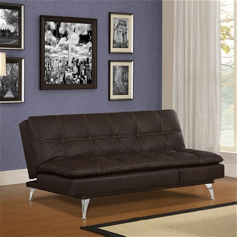 serta convertible sofa meredith serta gabrielle chocolate bonded leather convertible sofa