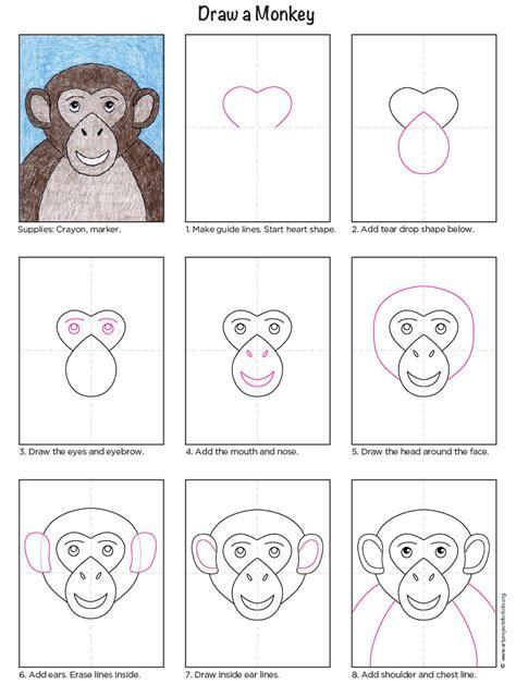 monkey art projects  kids