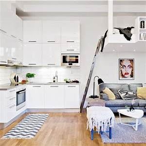 amenagement petit espace nos 7 conseils ooreka With creer une cuisine dans un petit espace