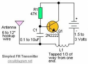 rf can i make a homemade radio transmitter electrical With most simple fm transmitter circuit diagram electronics circuits