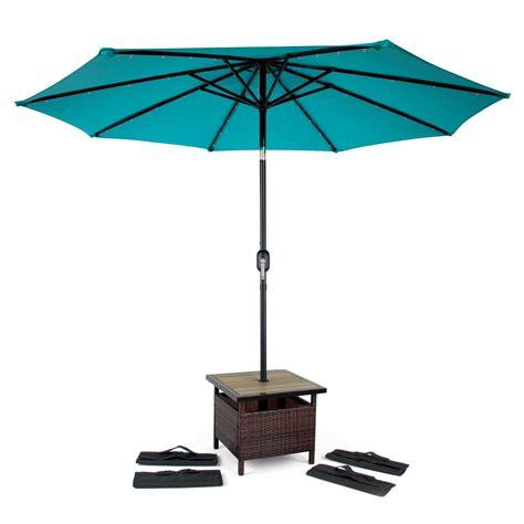 trademark innovations   square pe rattan patio