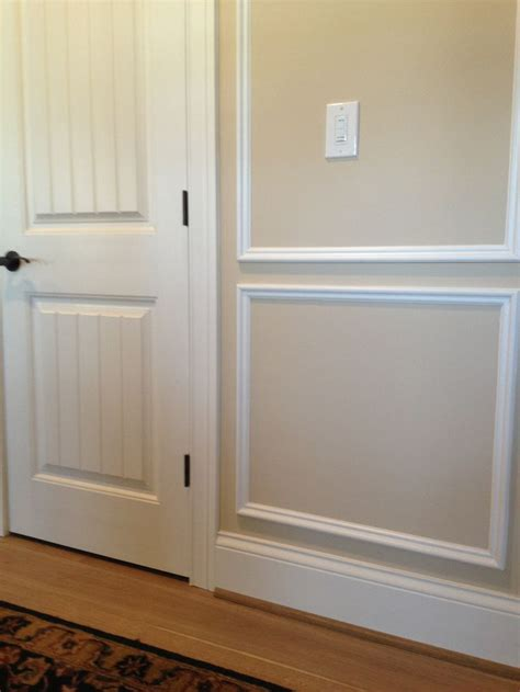 Wainscot Flooring by Wainscot Foyer Floor To Ceiling Built Ins And Wall