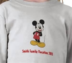 Disney Family Vacation Shirt Ideas