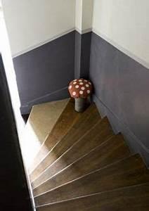 peinture cage escalier peinture cage d39escalier pinterest With peindre une entree et un couloir 0 une entree et un couloir contrastes home by marie