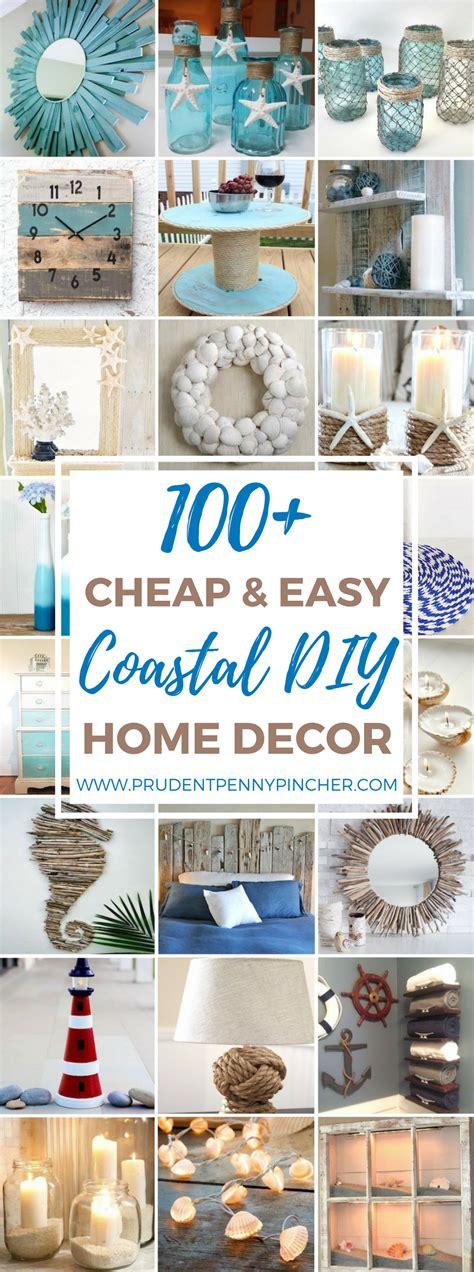 100 Cheap And Easy Coastal Diy Home Decor Ideas Pinpoint