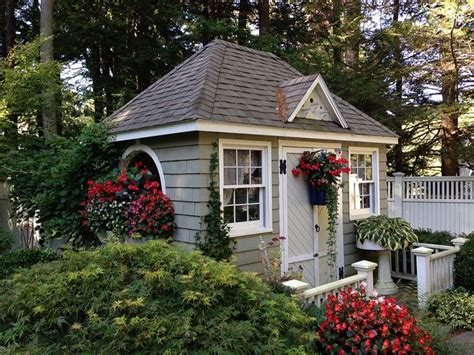 1000+ Ideas About Cottage Garden Sheds On Pinterest