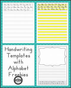 handwriting without tears letter templates - handwriting templates with alphabet guides your therapy