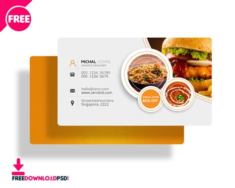 Free Restaurant Business Card Psd Material Business Card Psd Good Free Maker Metal Luggage Tags Scan To Linkedin Visiting Apk Red Luxury Lenscard Pro Photo