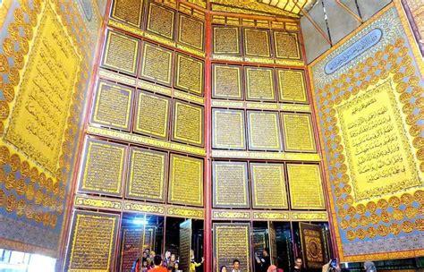 palembang benteng kuto besak tugu belido al quran al
