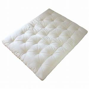 Europe nature matelas futon 100 lin matelas futon for Tapis exterieur avec matelas canapé futon