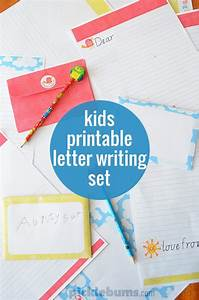 free printable kids letter writing set With children s letter writing sets