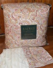 ralph tara paisley comforter set new 1st quality ebay