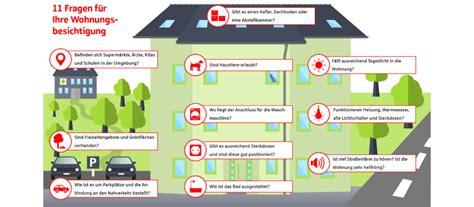 Wichtige Fragen Wohnungsbesichtigung by Checkliste F 252 R Die Wohnungsbesichtigung Berliner Sparkasse