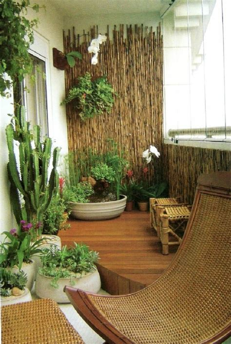 balcones pequenos decorados  mucho estilo  ideas