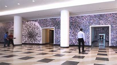 Mural Motion Activated Lobby Interactive Terrell Dc