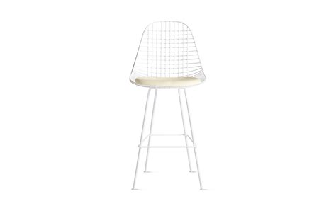 eames 174 wire barstool with seat pad dkhbx 5 design