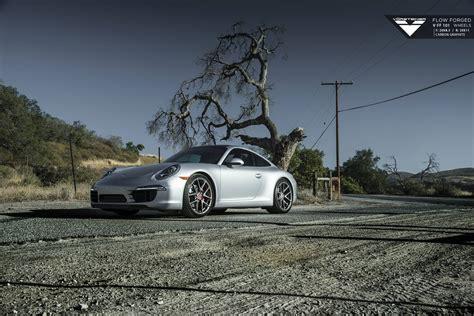 Porsche 911 Carrera S With Carbon Graphite Vorsteiner