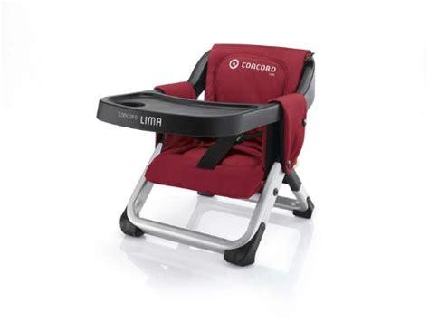 rehausseur de chaise de voyage chaise haute de voyage lima concord avis