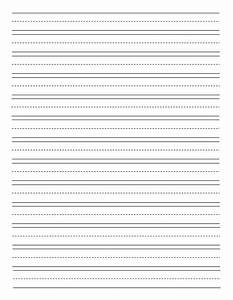 Printable Story Writing Paper For Kindergarten - smart ...