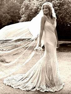 celebrity inspiration kate moss39s vintage inspired With kate moss wedding dress