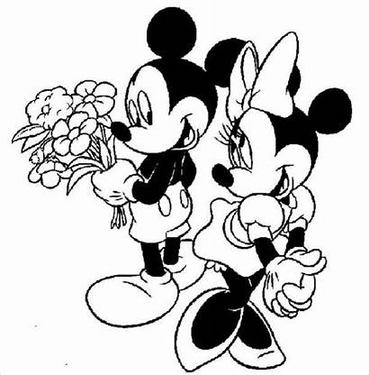 Minnie Mouse Coloring Pages Disney Mickey Printable