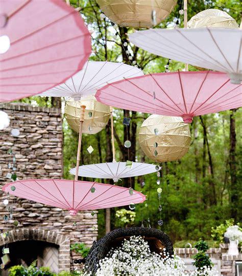 Gartenparty Deko Weiss by Decoration De Bapteme Et Or Mariageoriginal