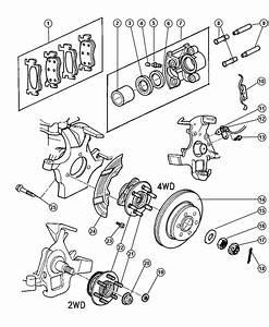 1999 Dodge Dakota Bolt  Hub  Mounting  Hub And Bearing To