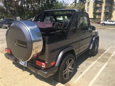 For Sale Usa by Mercedes G Wagon Convertible G500 Amg For Sale In The Usa