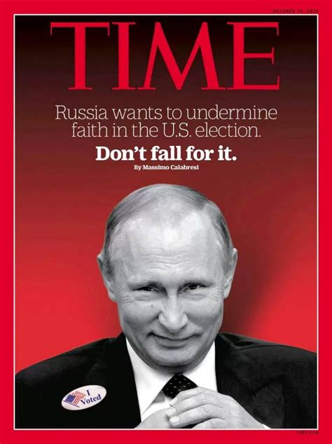Time Magazine's Latest Cover Story Is Full On Propaganda