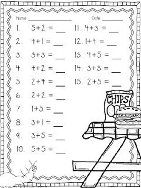 addition worksheets worksheets  ants  pinterest