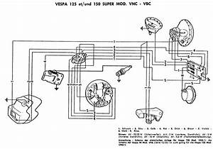 schaltplaene With wiring diagram vespa super 150