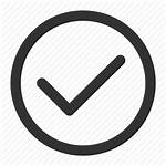 Tick Correct Icon Right Check Icons Outline