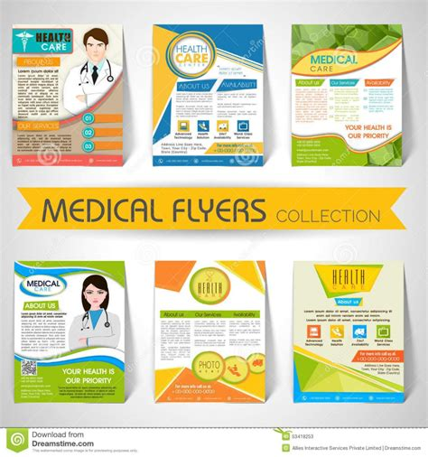 Templates For Flyers And Brochures Free by Health Fair Flyer Templates Free Yourweek 6f68efeca25e
