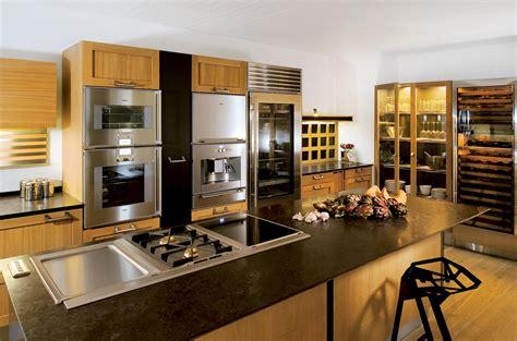 cuisine st paul cuisine avec îlot central technique association chêne et inox atelier de paul