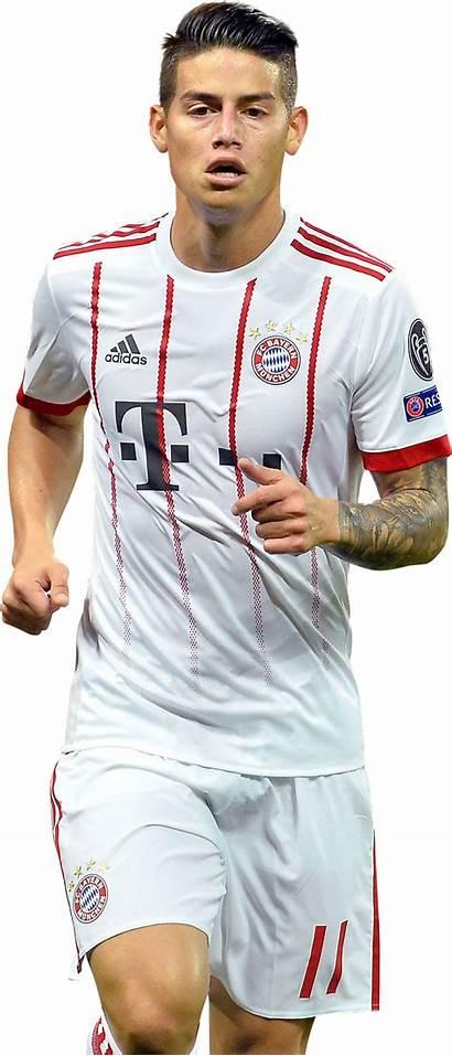 Rodriguez James Bayern Footyrenders Render Rodrigez Football
