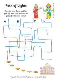 path of lights puzzle diwali paths 417   089400c0e9ff783908cc8edc2185755c