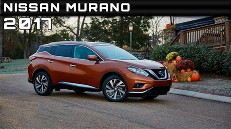 2017 Nissan Murano Review Rendered Price Specs Release