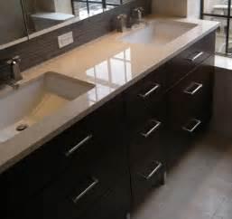 55 Inch Vanity Top by Double Sink 7 Drawer Vanity Modern Bathroom Vanities