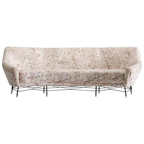 floral sofas for sale italian sofa with floral upholstery for sale at 1stdibs