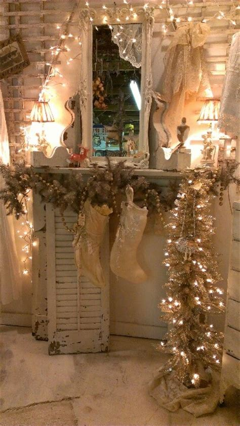 classic white vintage christmas decoration ideas godfather style