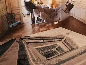 treppen teppich klassisch wohnen With balkon teppich mit tapeten mit motiv