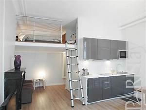 Studio Mezzanine Paris : paris location meubl e appartement type t1 studio victoire ~ Zukunftsfamilie.com Idées de Décoration
