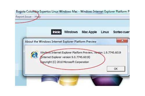 internet explorer version 9 baixar gratis para mac