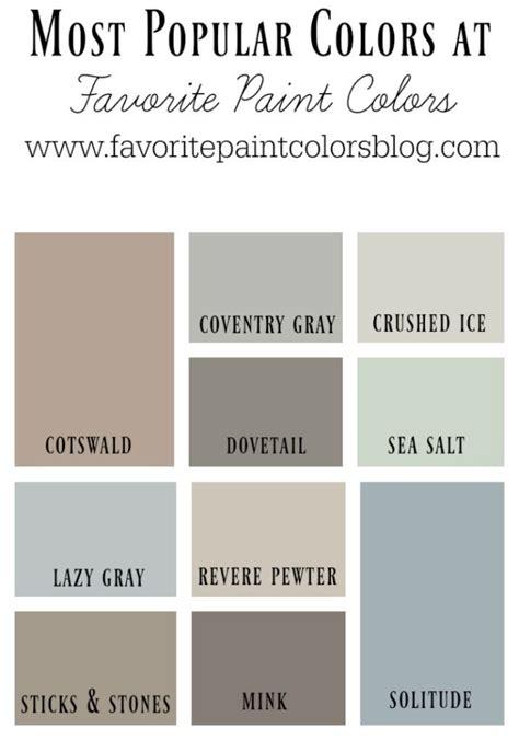 17 Best Ideas About Popular Paint Colors On Pinterest