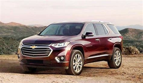 chevy traverse review specs     suv